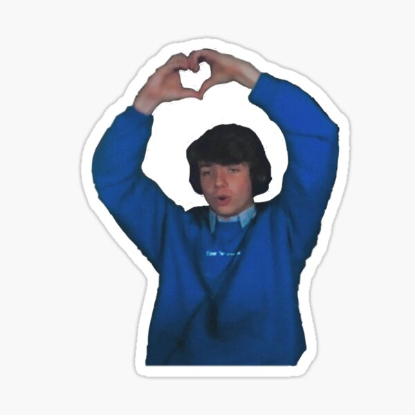 heart karl Sticker