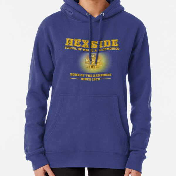 HEXSIDE - The Owl House (Gold Letters) Pullover Hoodie