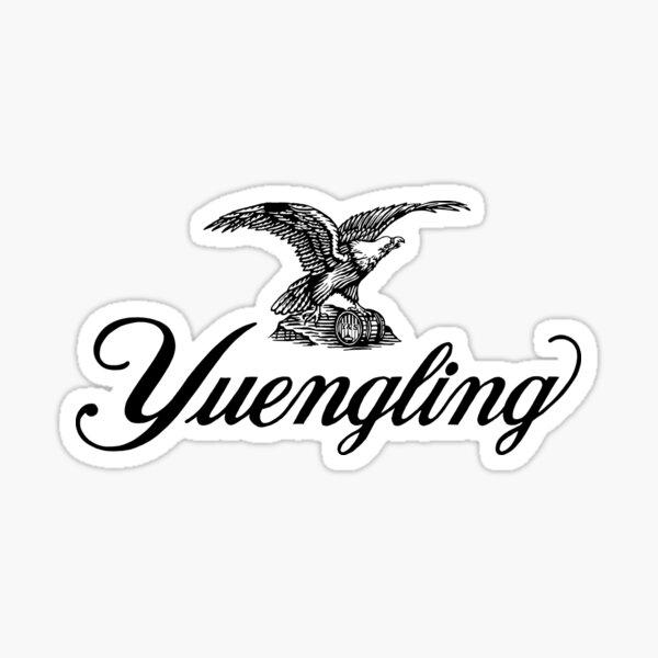 Yuengling black Sticker