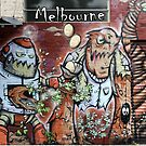 Street Art  Melbourne  #144 by bekyimage