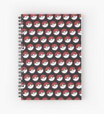 Pokemon Pattern Spiral Notebook