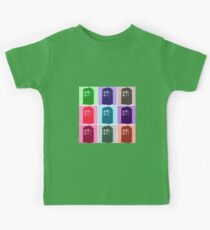 Warhol Inspired Public Police Call Box Kids Clothes