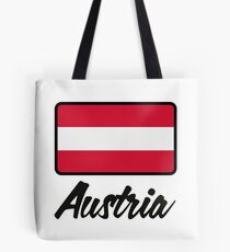 National Flag of Austria Tote Bag