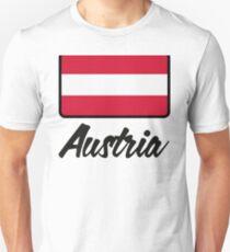 National Flag of Austria Unisex T-Shirt