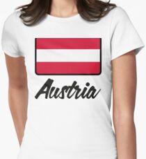 National Flag of Austria T-Shirt