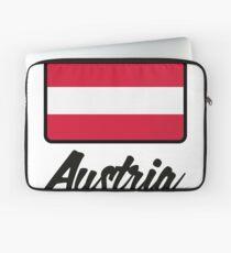 National Flag of Austria Laptop Sleeve