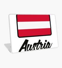National Flag of Austria Laptop Skin