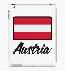 National Flag of Austria iPad Case/Skin