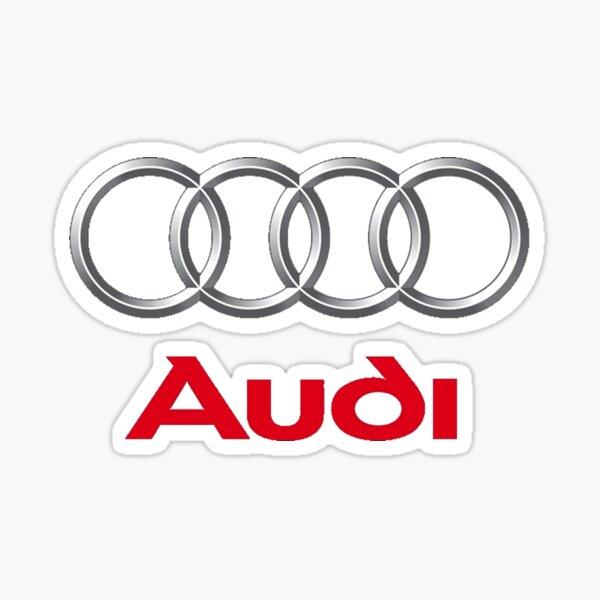 Audi car manufacturer Pegatina