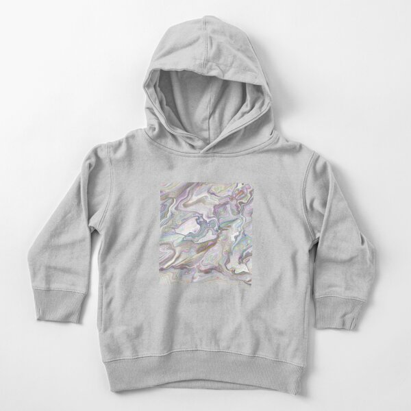Colorful Abstract Acrylic Art Toddler Pullover Hoodie