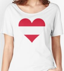 A heart for Austria Women's Relaxed Fit T-Shirt
