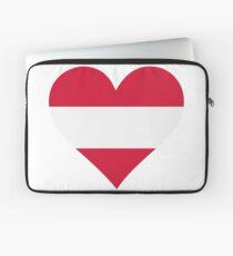 A heart for Austria Laptop Sleeve