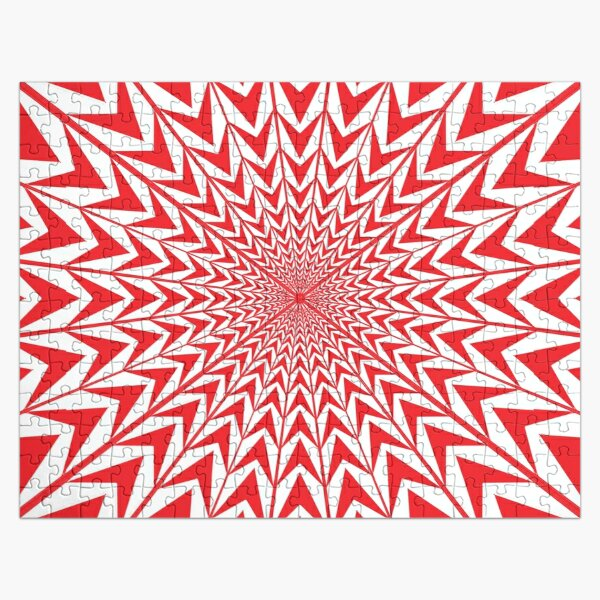 Visual illusion, Psychedelic Art, Psychedelic, Art, visual, illusion Jigsaw Puzzle