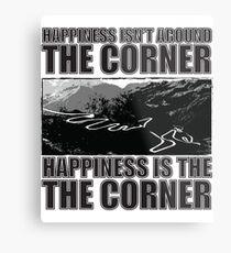 Happy Corner Metal Print