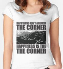 Happy Corner Fitted Scoop T-Shirt