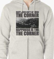 Happy Corner Zipped Hoodie