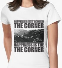 Happy Corner Fitted T-Shirt