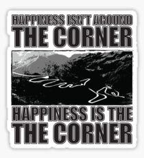 Happy Corner Glossy Sticker