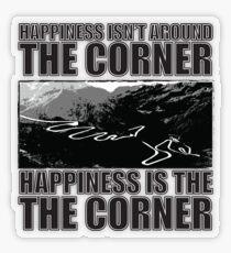 Happy Corner Transparent Sticker