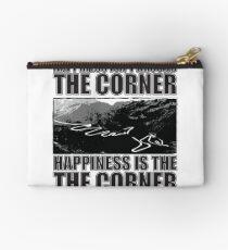 Happy Corner Zipper Pouch