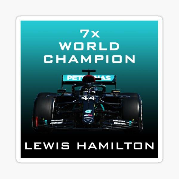 Lewis Hamilton  Art Sticker