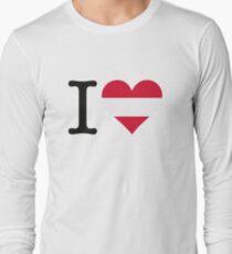 I love Austria Long Sleeve T-Shirt