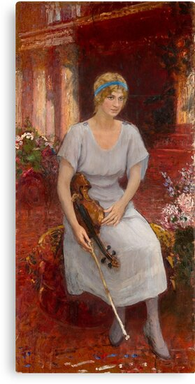 REPIN, ILYA - Portrait of the Violinist Cecilia Hansen by MotionAge Media