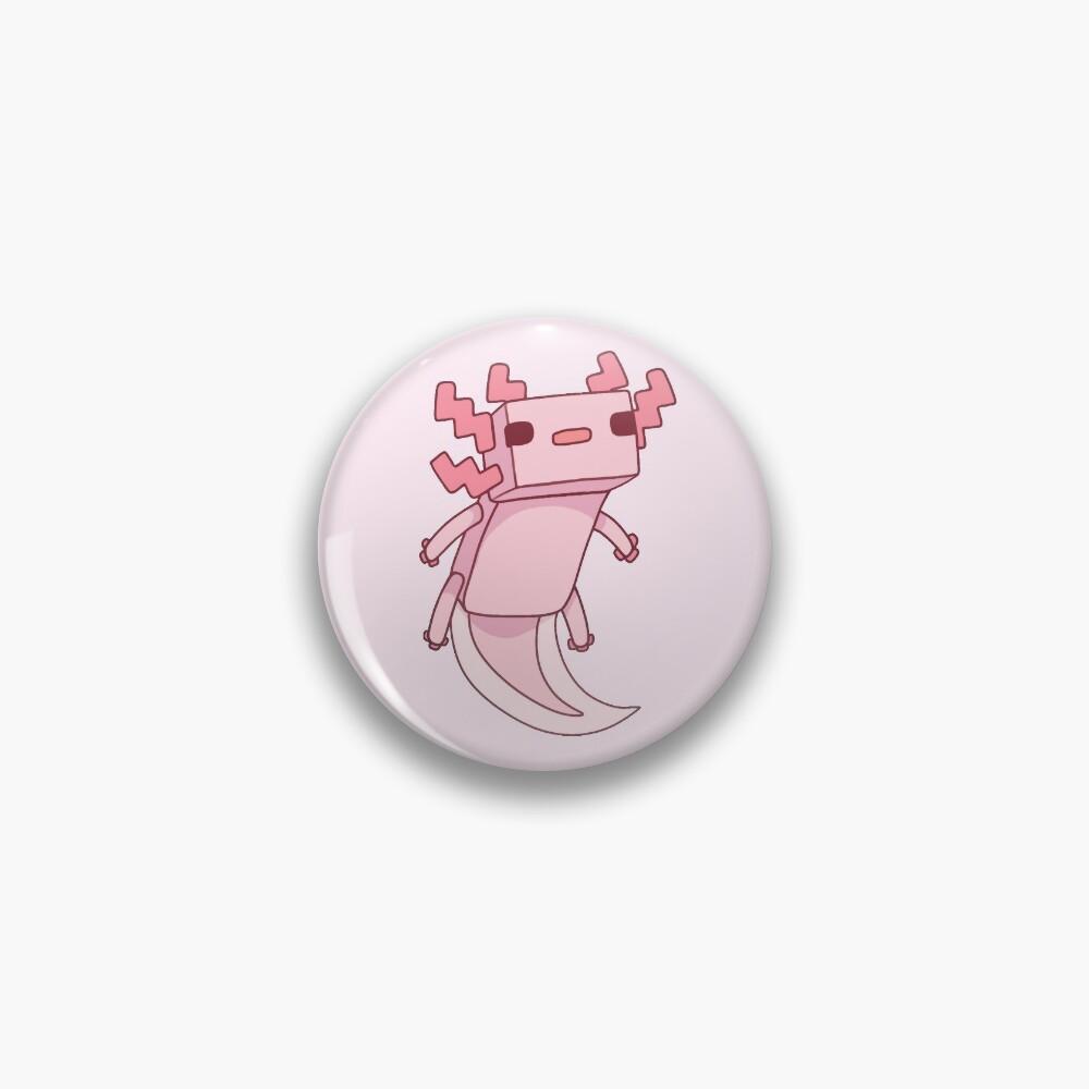 Pixel Axolotl  Pin