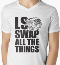 LS All The Things V-Neck T-Shirt