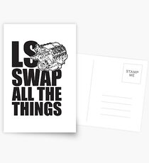 LS All The Things Postcards