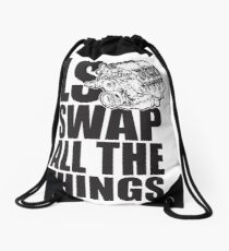 LS All The Things Drawstring Bag