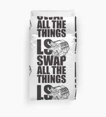 LS All The Things Duvet Cover