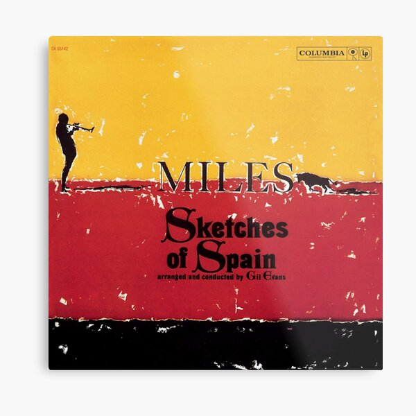 Sketches of Spain Metal Print
