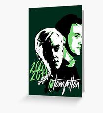 @TomFelton, Draco Malfoy - No Username Greeting Card