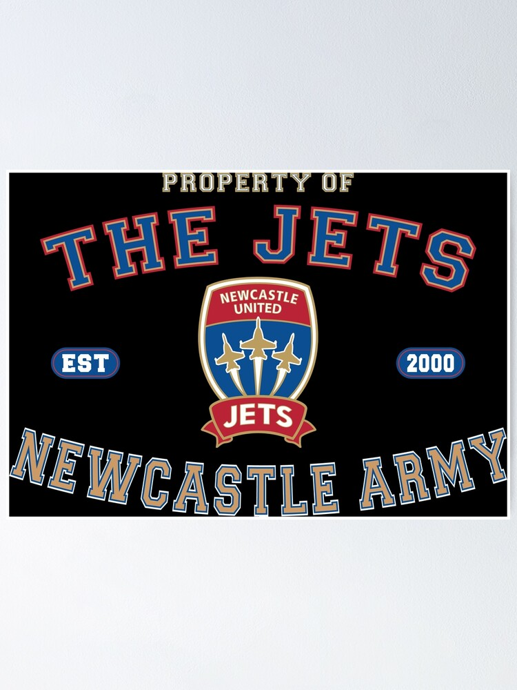 Alternate view of The Jets - Newcastle Army Poster
