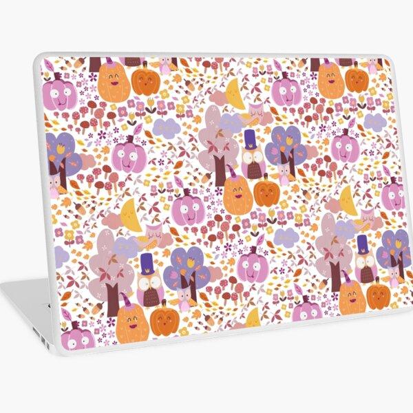 Owl~~~Halloween! Laptop Skin