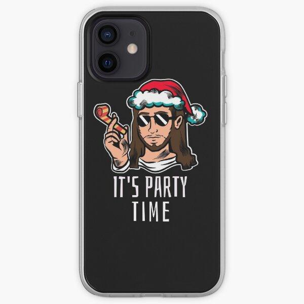 Jesus birthday party iPhone Soft Case
