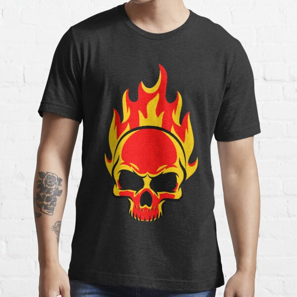 Skull is on fire Essential T-Shirt