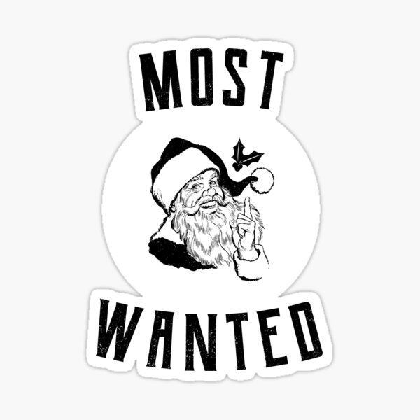 Santa Claus where are you Sticker