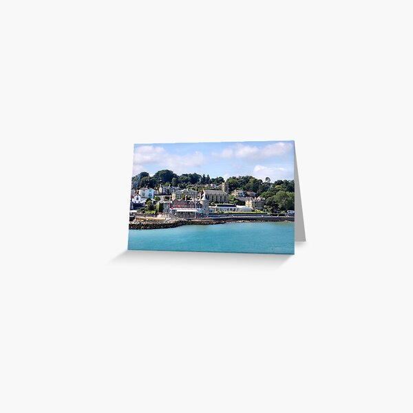 The Royal Yacht Squadron. Cowes, Isle of Wight. UK. Greeting Card