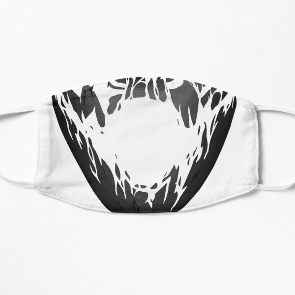 Halloween  Stitched Smile Small Mask