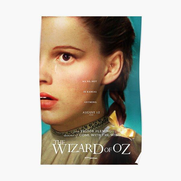 Der Zauberer von Oz (Midsommar-Stil) - WIR SIND NICHT MEHR IN KANSAS Poster