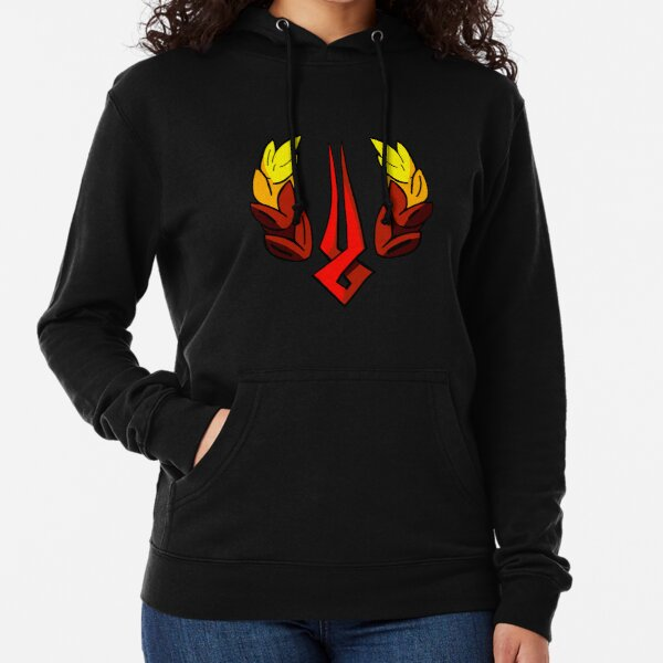 Hades Game Logo Zagreus Supergiant Loading Symbol Lightweight Hoodie
