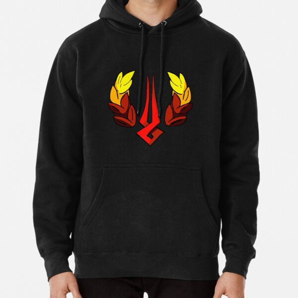 Hades Game Logo Zagreus Supergiant Loading Symbol Pullover Hoodie