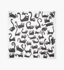Schwarze Katzen Tuch