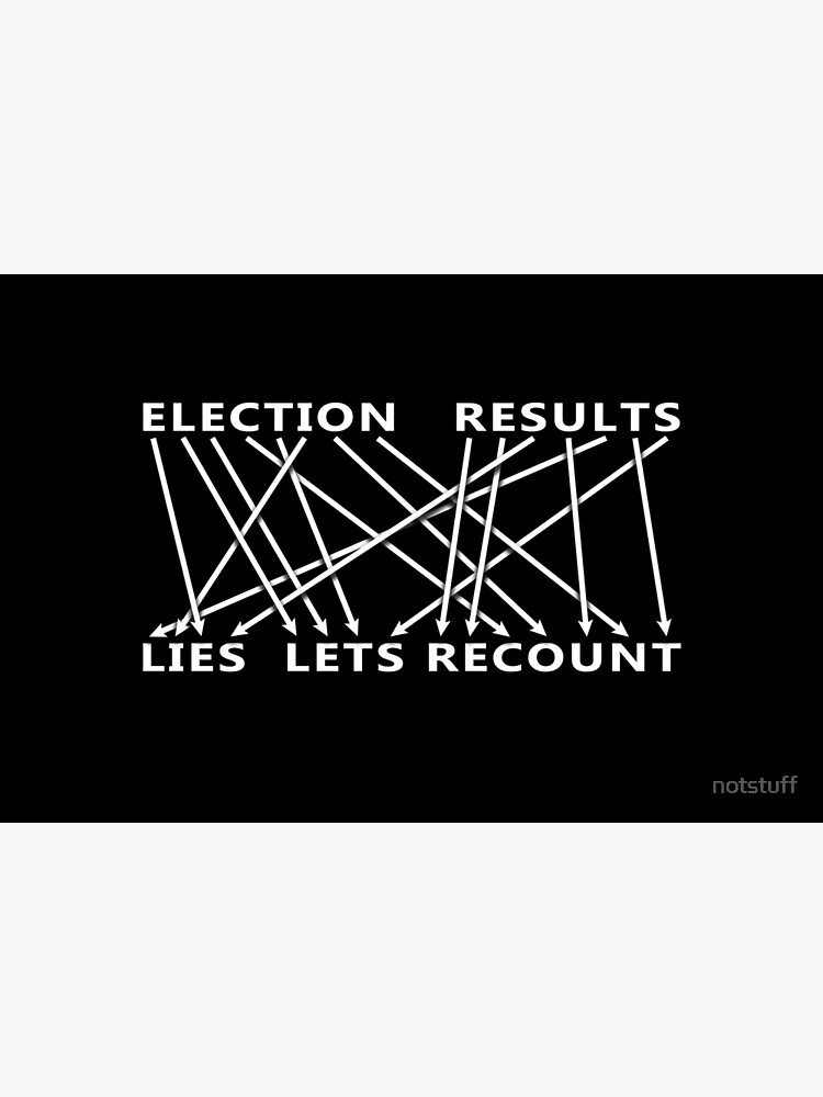 Election Result is Lies! Let's Recount - Anagram by notstuff