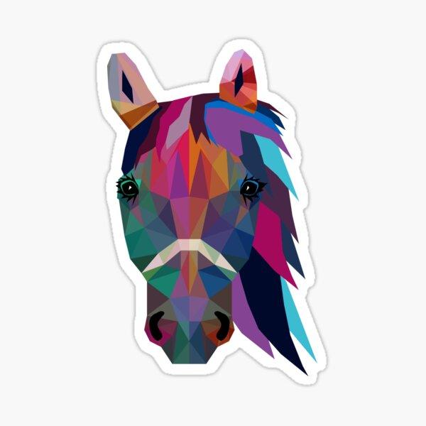 horse Pegatina