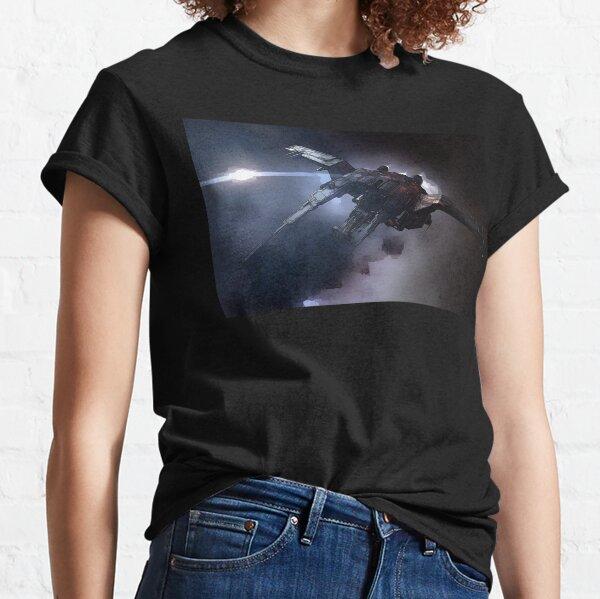 Raumschiff von EVE Online Golem Fan Art Classic T-Shirt