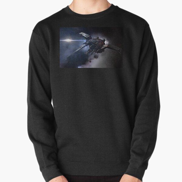 Raumschiff von EVE Online Golem Fan Art Pullover