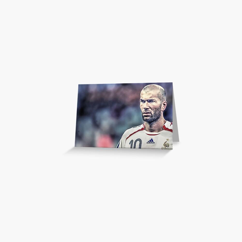 Zidane Grußkarte